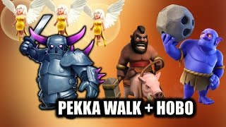 P.E.K.K.A Walk + HOBO | TH9 3 star attack strategy | PEKKA IS BACK with HOGS+BOWLERS| Clash of Clans