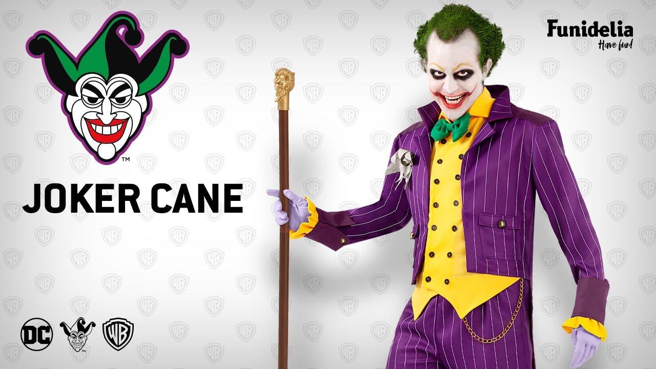 Funidelia joker walking stick. costume accessoryfunidelia - officially licensed  warner bros