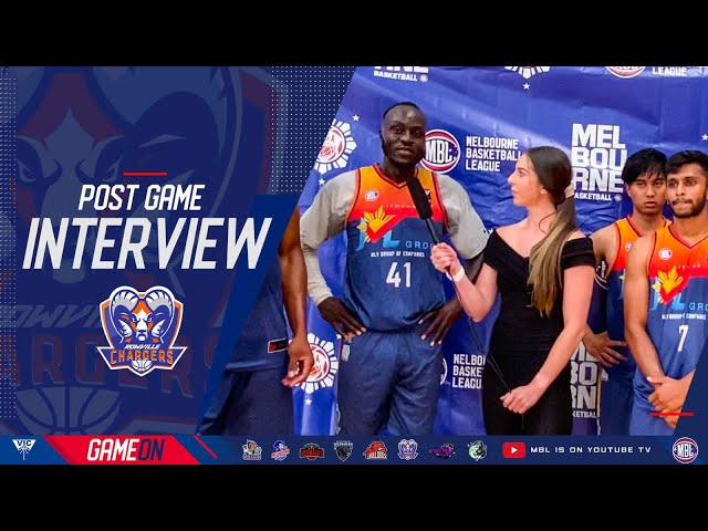 Round 7 - Post Game Interview MLV Chargers with Sarah Head