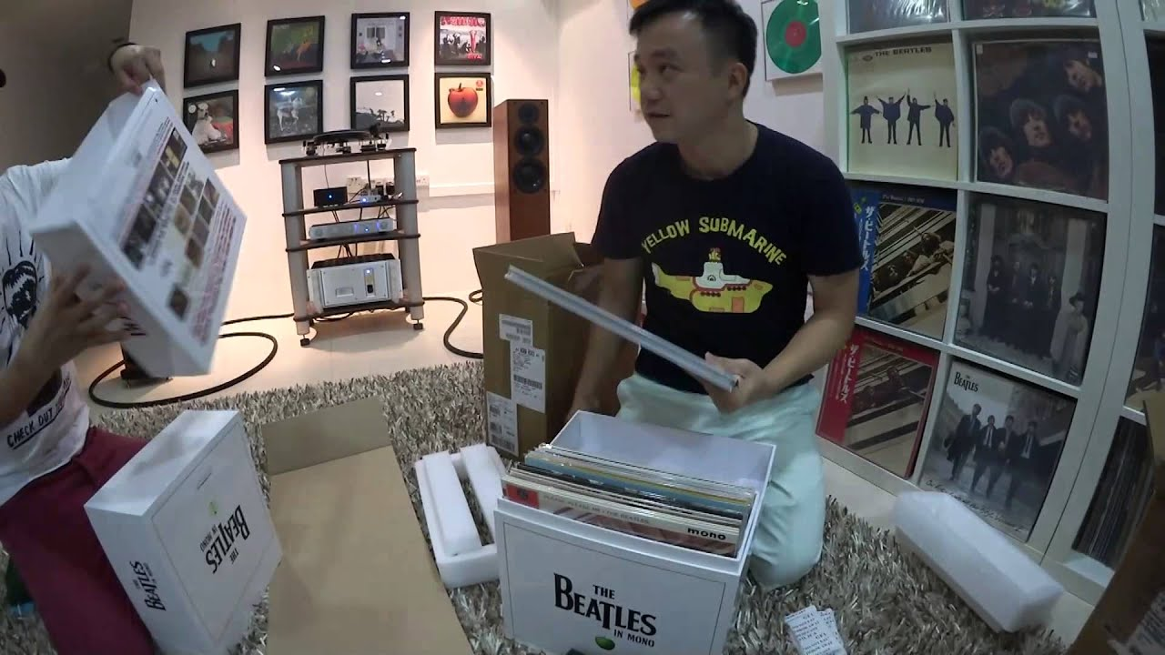 Unboxing The Beatles Mono 14 Lps Box Set Youtube