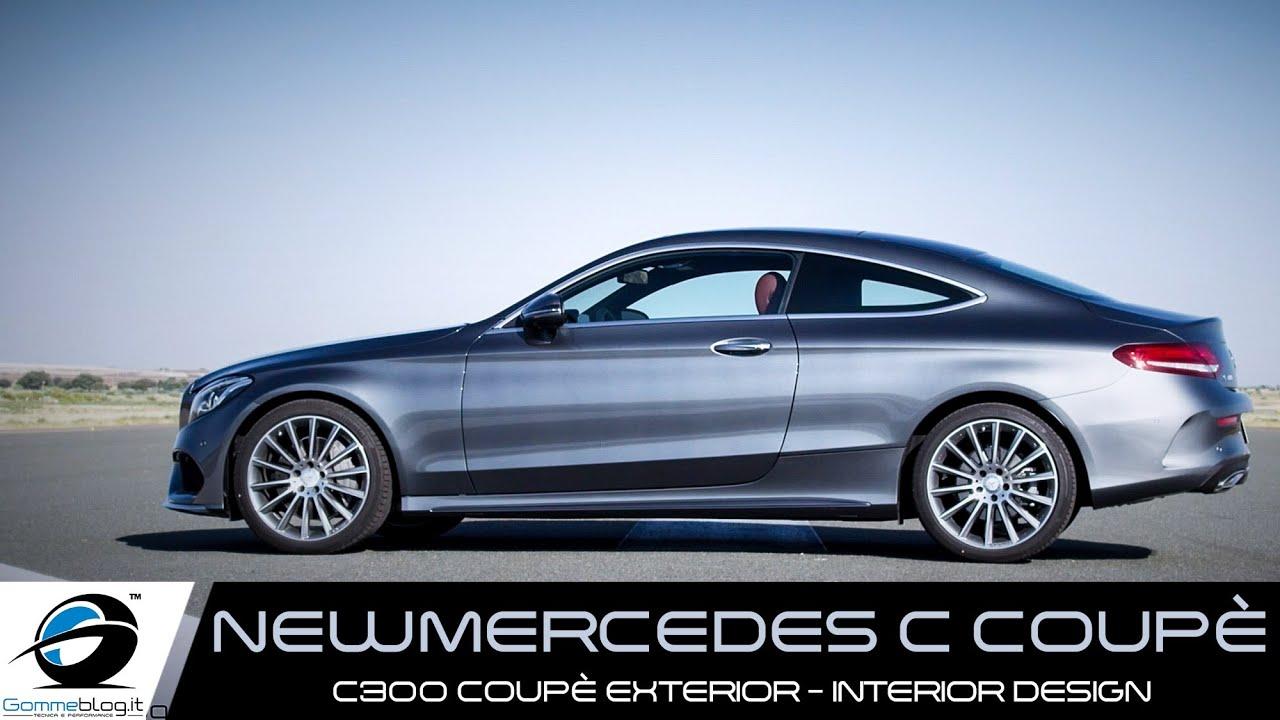 NEW 2016 Mercedes C300 Coupe EXTERIOR INTERIOR DESIGN