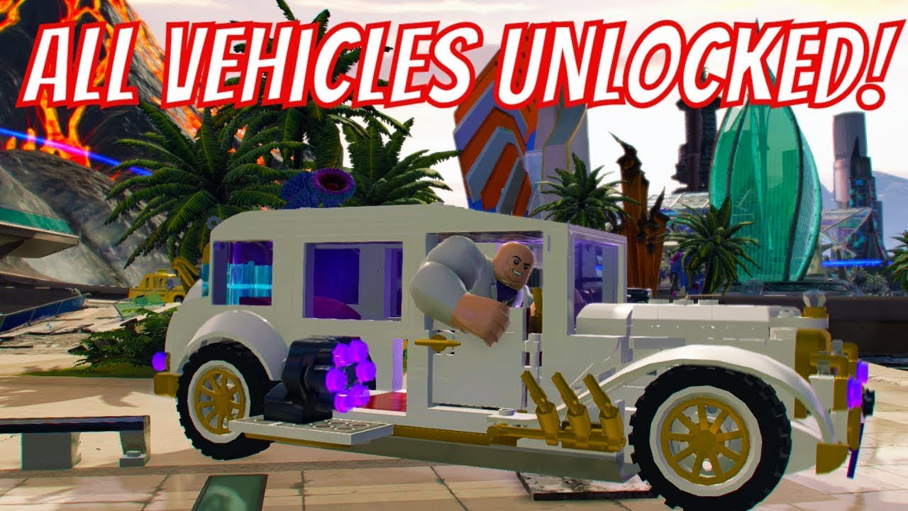Lego Marvel Super Heroes 2 All Vehicles Unlocked With Commentary