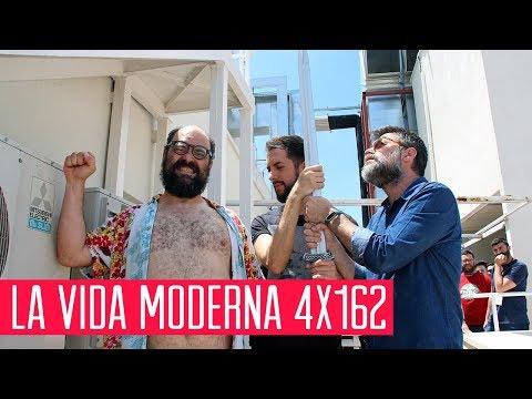 La Vida Moderna 4x162...es pasear a tu perro subido a un hoverboard