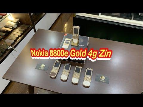 Nokia 8800e Gold 4g Zin Chính Hãng Giá Tốt - Thanh luxury . Vn