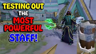 Testing Out The Staff Of Armadyl! - First T95 Weapon! - Strongest Staff In RuneScape