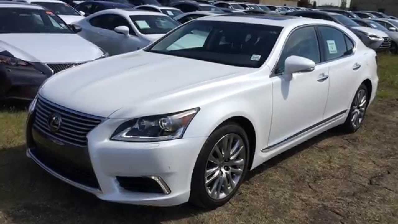 white 2015 lexus ls 460 awd swb technology package review | west