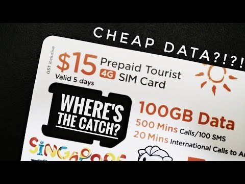 100GB for $15?!? M1 Tourist Sim Review