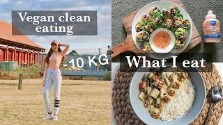 Vlog 05: 🌿 VEGAN CLEAN EATING - noodles, rice paper rolls, curry | Temple in Melbourne