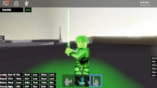 Luke Skywalker Cosplay!! | Roblox Cosplay