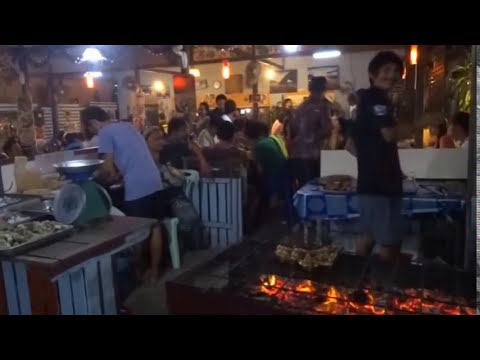 THAI BARBEQUE, BBQ, THAI STREET FOOD, KOH LIPE, GRILLING MEAT IN THAILAND, ASIAN FOOD