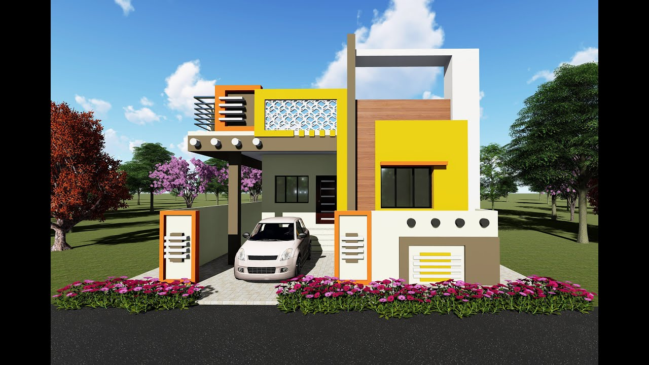 Small Low Budget House Design Indian Style Ideas Village Home Youtube