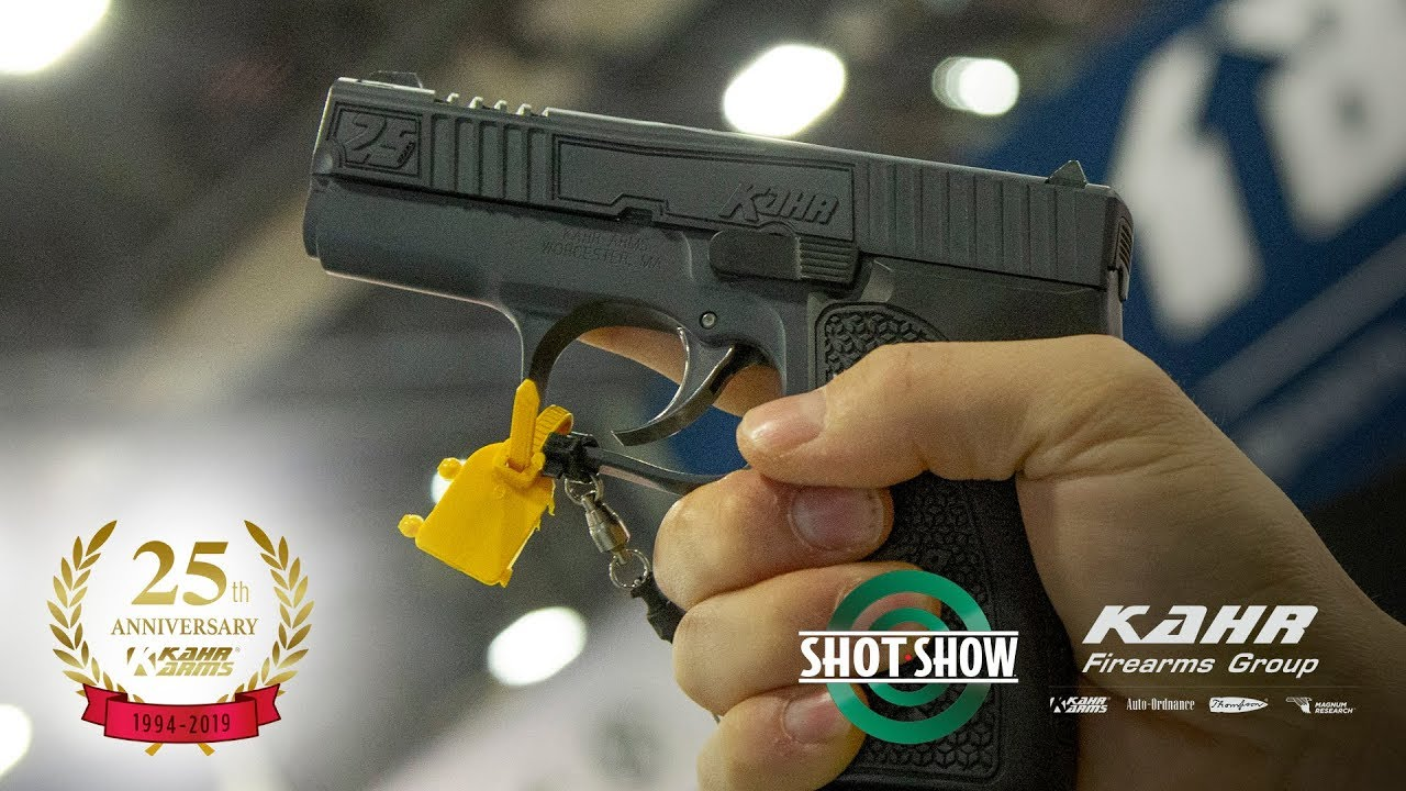 Shot Show 2019 - New Kahr Arms, Auto-Ordnance and Thompson Products
