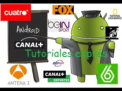 Como ver canales de pago y canales nacionales en android 2015