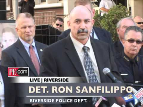 Riverside Police press conference on arrest of shooting suspect
