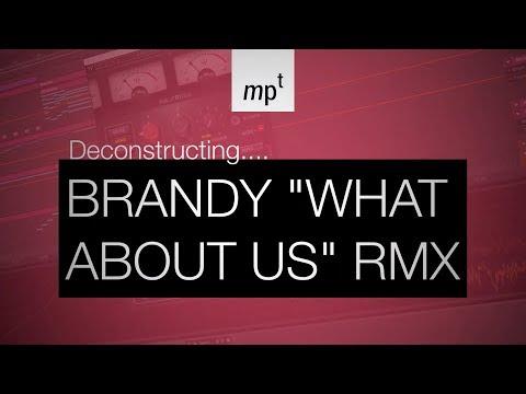 "Ableton Live - Deconstructing Brandy ""What About Us?"" Remix"