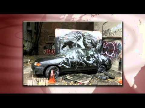 Graffiti Artist Banksy Ends New York City Residency