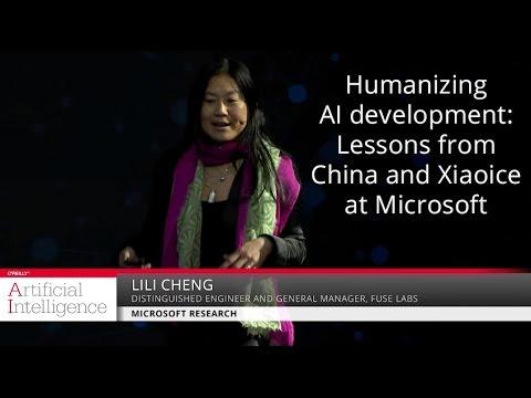 Humanizing AI development - Lili Cheng (Microsoft Research)