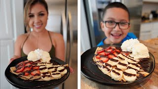 HOW I MAKE CREPES, SERIΟUSLY SUPER EASY & DELICIOUS !!!