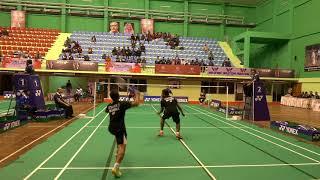 Bangladesh International Junior Badminton Day-2 Highlights (sports life tv)