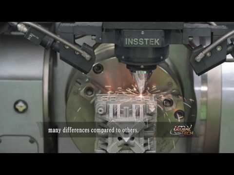 InssTeks on DMT Metal Technology - 3D Metalldrucker