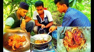 The Children of The Village Cooking Tandoori Chicken | Children Picnic | Very Tasty Chicken