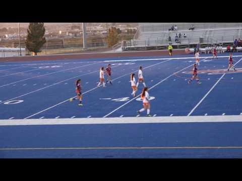 Canutillo Girls Soccer vs Eastlake  (W4-3 SO) PART I - Feb 10, 2017  HD 4K