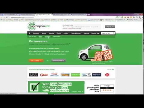 Car Insurance Estimate in UK (United Kingdom)