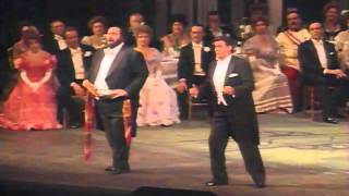 Plácido Domingo,  Luciano Pavarotti - O Mimì, Tu Più Non Torni - Puccini - La Bohème