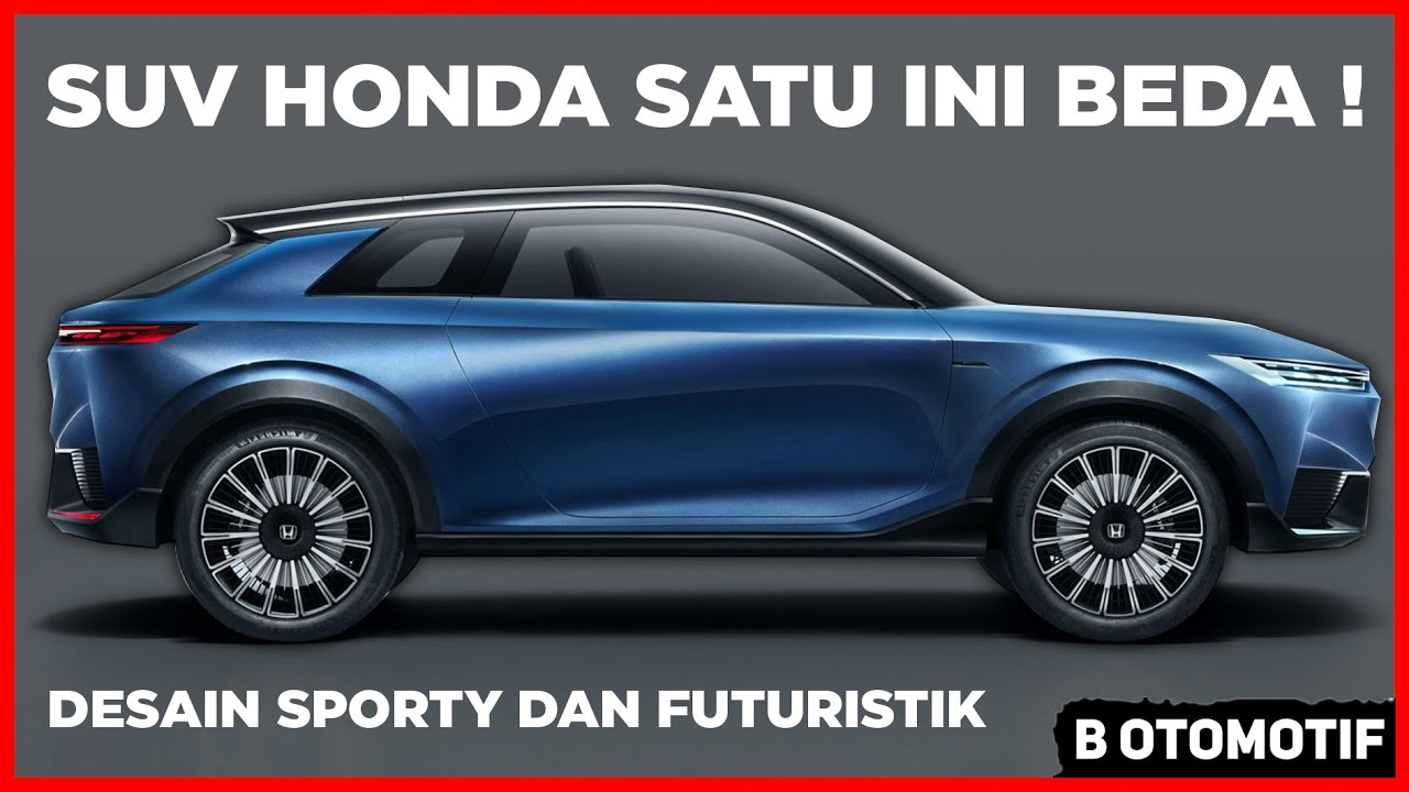 Canggih dan Futuristik, SUV dari Honda ini Beda dari Biasanya !