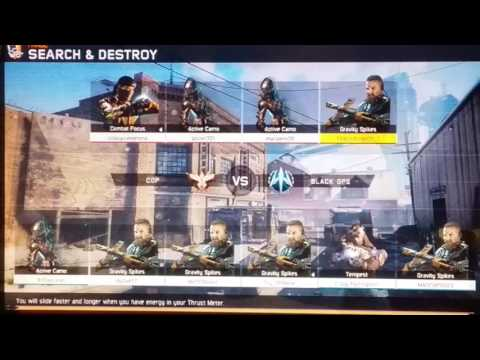 Call of Duty BO3 ONLINE MULTIPLAYER SEARCH AND DESTROY