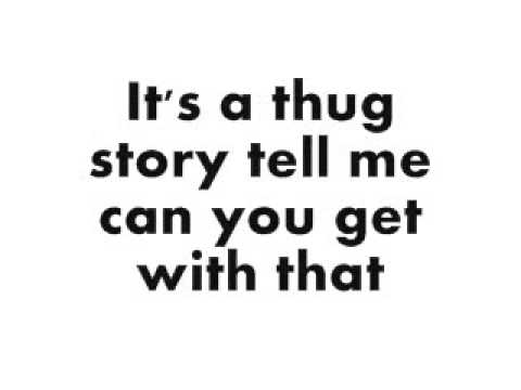 Taylor Swift &; T-Pain - Thug Story - Lyrics