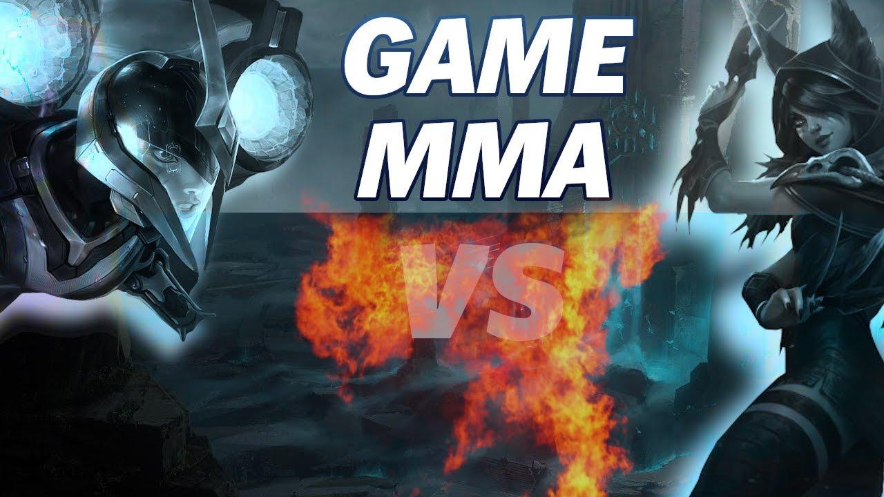 Xayah vs Kai'Sa - Game MMA #1