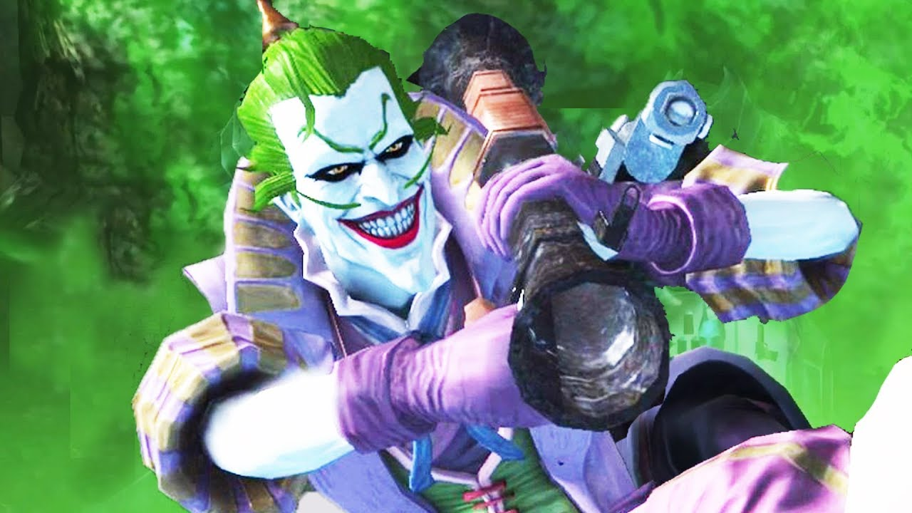 Lord Joker Batman Ninja Super Attack Move Injustice Gods Among Us Youtube