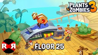 Plants vs Zombies 3 - FLOOR 25 - iOS / Android Gameplay