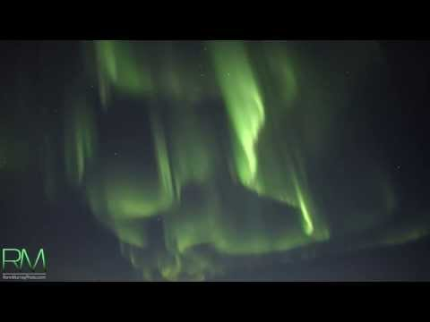 The World's Very First REAL-TIME Northern Lights Captured in 4K Ultra High Definition