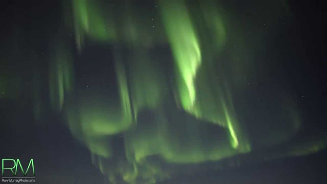 The World S Very First Real Time Northern Lights Captured