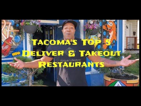Tacoma's Top 5 Restaurants That Deliver
