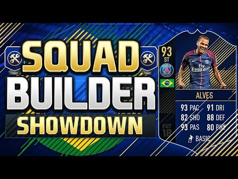 FIFA 18 SQUAD BUILDER SHOWDOWN!!! STRIKER TEAM OF THE YEAR D