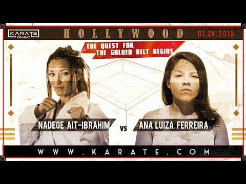 Nadege Ait Ibrahim VS Ana Luiza (FULL FIGHT)