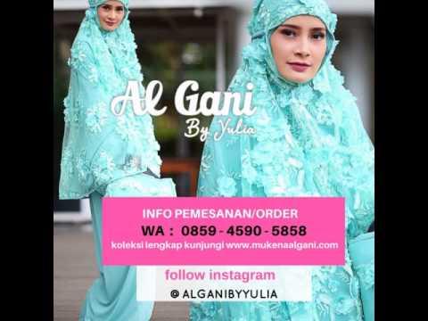 Dimana jual Mukena Al Gani ori Hubungi WA 0859 4590 5858
