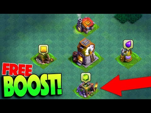 HOW BOOST YOUR BASE FOR FREE! GEMMING NEW CLOCK TOWER! CLASH OF CLANS UPDATE thumbnail