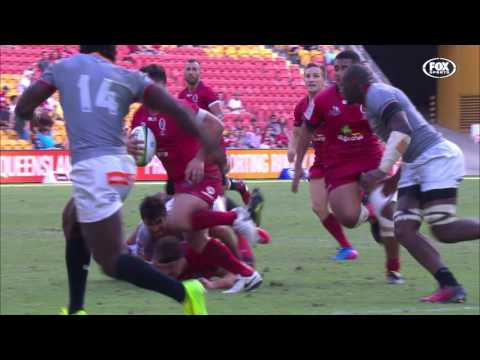 2017 Super Rugby Rd 8: Reds v Kings