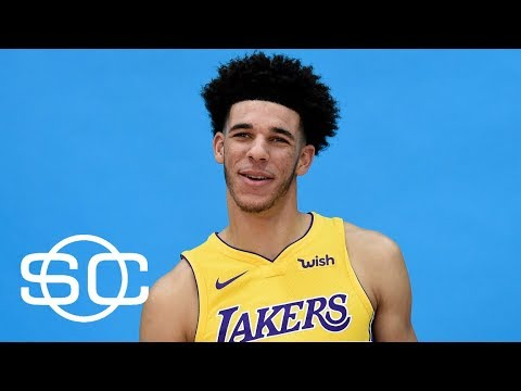 Lonzo Ball a must-see star at Lakers' media day | SportsCenter | ESPN