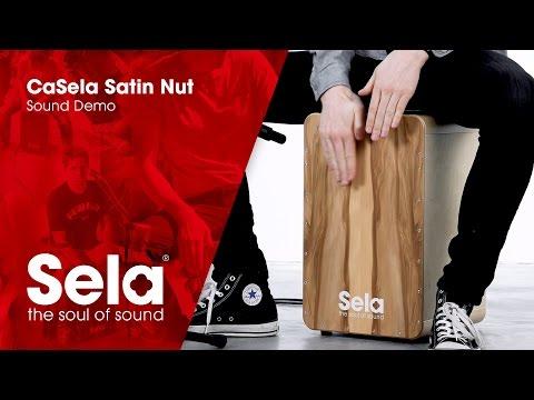 Sela SE 002A CaSela Satin Nut (Cajon Sound Demo)