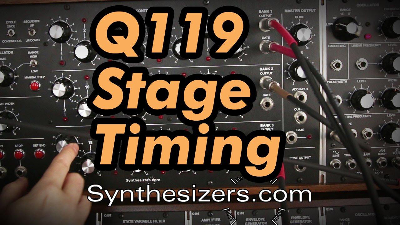 q119 stage timing tutorial youtube. Black Bedroom Furniture Sets. Home Design Ideas