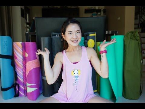 All my yoga mats review รีวิวเสื่อโยคะทั้งหมดที่เคยใช้มา (lululemon,manduka,etc)