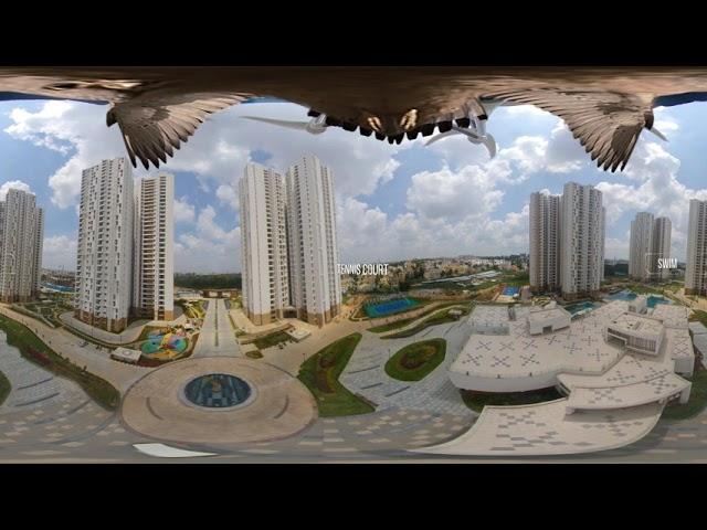 Prestige Falcon City | 360° Virtual Reality (VR) View | Apartments in Kanakapura Road