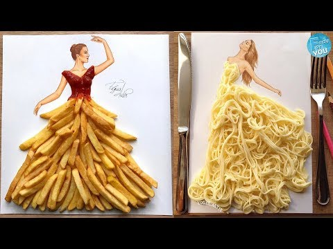 Most Creative Stunning Dresses From Everyday Objects Youtube