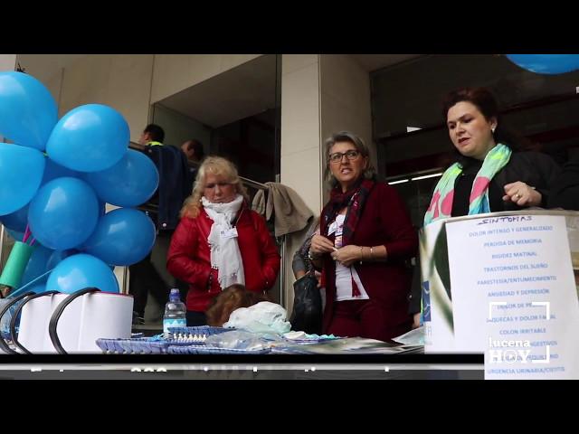 VÍDEO: En torno a 300 lucentinas padecen fibromialgia. Hoy han celebrado distintas actividades