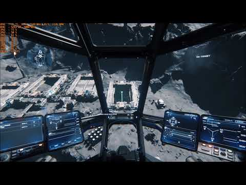 Star Citizen 3.0 Cargo Run - FPS counter on all the time